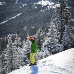 Activites ski-alpin poudreuse Défi Adstock - Chalet à louer Thetford - Domaine Adstock