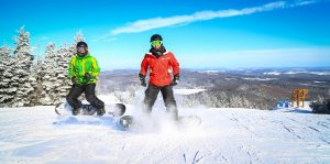 Activites snowboard Mont Adstock - Chalet à louer Thetford - Domaine Adstock